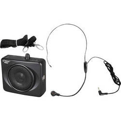 Pyle Pro Waistband Portable PA System with USB Input (Black)