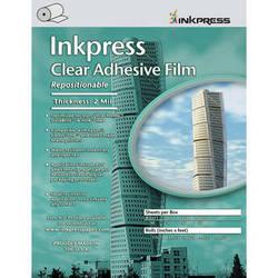"""Inkpress Media Clear Adhesive Film Roll (36""""x75')"""