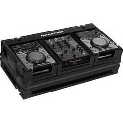 "Marathon Flight Case Coffin for 2 Small Format CD Players & 10"" Mixer (Black)"