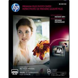 "HP Premium Plus Photo Paper, Glossy (50 Sheets, 8.5 x 11"")"