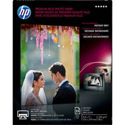 "HP Premium Plus Photo Paper, Glossy (25 Sheets, 8.5 x 11"")"