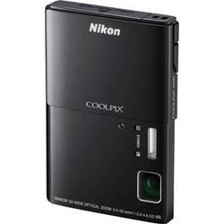 Nikon CoolPix S100 Digital Camera (Black)