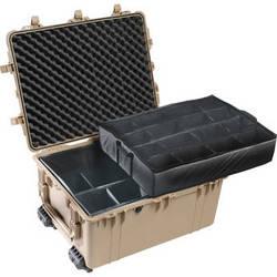 Pelican 1634 Transport 1630 Case with Dividers (Desert Tan)