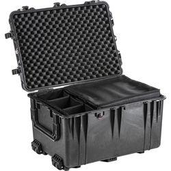 Pelican 1664 Waterproof 1660 Case with Dividers (Black)