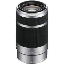 Sony E 55-210mm f/4.5-6.3 OSS E-Mount Lens (Silver)