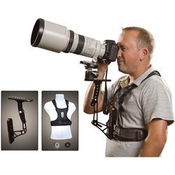 Cotton Carrier Steady Shot with Camera Vest (Black)