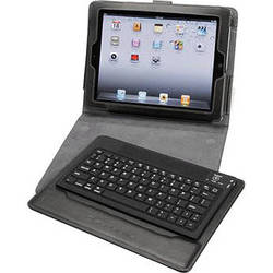 Scosche keyPAD p2 - Bluetooth Wireless Keyboard & Folio Case for iPad 2nd, 3rd, and 4th Generation
