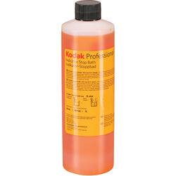 Kodak Indicator Stop Bath (Liquid) for Black & White Film & Paper (Makes 8 Gallons)