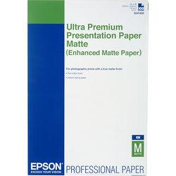 "Epson Ultra Premium Presentation Paper Enhanced Matte (13 x 19"", 100 Sheets)"