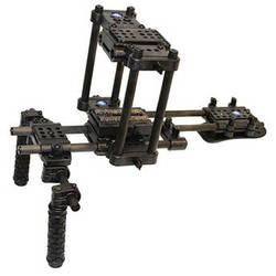 CPM Camera Rigs Cubed Shoulder Cage for DSLRs without Battery Grips