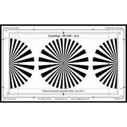 DSC Labs DX-1 BackFocus Calibration Chart