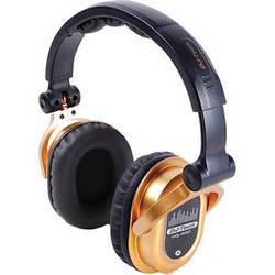 DJ-Tech eDJ-500 Professional Headphones (Gold)