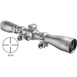 Barska 4x32 Plinker-22 Riflescope (Silver, Clamshell Packaging)