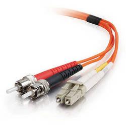 C2G 3m LC/ST Duplex 62.5/125 Multimode Fiber Patch Cable (Orange)