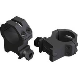 "Weaver 4-hole Skeleton 1"" Riflescope Rings (Medium, Matte Black)"