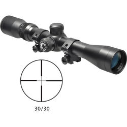 Barska 3-9x32 Plinker-22 Riflescope (30/30 Reticle, Matte Black)