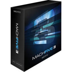 MOTU MachFive 3 - Universal Virtual Sampler