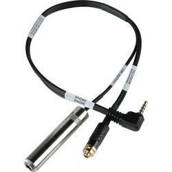 """Sescom TRRS to 1/4"""" Jack Guitar Level and 3.5mm Headphone Monitor Jack Cable"""