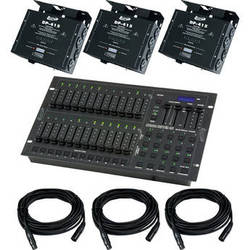 American DJ Stage Pak 2 Controller & Dimmer Pack System