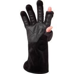 Freehands Women's Microfur Gloves (Large, Black)