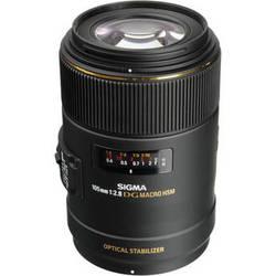 Sigma 105mm f/2.8 EX DG OS HSM Macro Lens for Nikon AF Cameras