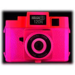 Holga Holga Glo 120N Plastic Medium Format Camera (Fuschia Fusion)