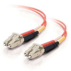 C2G 49.21' (15 m) LC/LC Duplex 62.5/125 Multimode Fiber Patch Cable (Orange)