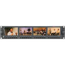 "Datavideo HD & SD 4.3"" TFT LCD Monitor Bank (4 Displays)"