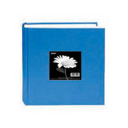 Pioneer Photo Albums DA-200CBF Bi-Directional Cloth Frame Album (Sky Blue)
