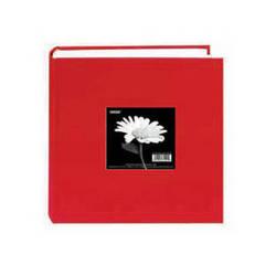 Pioneer Photo Albums DA-200CBF Bi-Directional Cloth Frame Album (Apple Red)