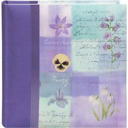 Pioneer Photo Albums DA-200D Bella Fabric Ribbon Designer Page Memo Photo Album (Lilac)
