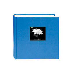 Pioneer Photo Albums DA-257CBF Fabric Frame Bi-Directional Memo Album (Sky Blue)