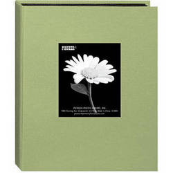 Pioneer Photo Albums DA-57CBF Mini Fabric Frame Album (Sage Green)