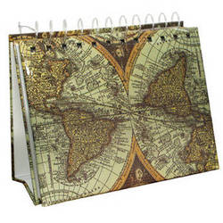 "Pioneer Photo Albums EA-50 Mini Photo Album Easel (4 x 6"", World Map)"