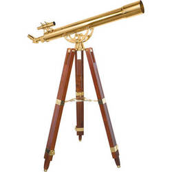 Barska 36x80 Brass Refractor Telescope