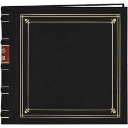 Pioneer Photo Albums BL-200 Bonded Leather Photo Album (Black)