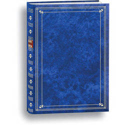 Pioneer Photo Albums Bi-Directional Photo Album (Royal Blue)