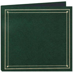 Pioneer Photo Albums Full Size Post Style Pocket Album (Hunter Green)