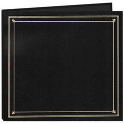 Pioneer Photo Albums Full Size Post Style Pocket Album (Black)