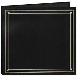 Pioneer Photo Albums Full Size Post Style Pocket Album (Black)
