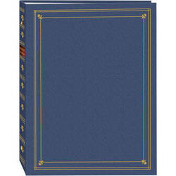 Pioneer Photo Albums APS-247 3-Ring Bi-Directional Memo Pocket Album (Bay Blue)