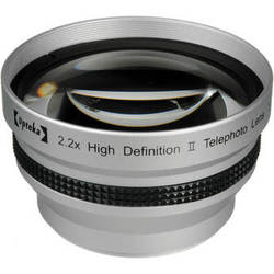 Opteka 2.2x 55mm High Definition II Telephoto Lens for Digital Cameras (Silver)