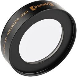Opteka 62mm 10x High Definition II Professional Macro Conversion Lens