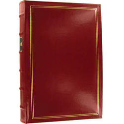 Pioneer Photo Albums BTA-204 Bonded Leather 3-Ring Album (Red)