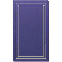Pioneer Photo Albums Slim Line Post Style Pocket Album (Bay Blue)