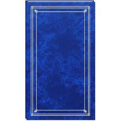 Pioneer Photo Albums Slim Line Post Style Pocket Album (Royal Blue)