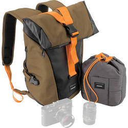 Crumpler Local Identity Backpack (Small, Beech/Black/Orange)