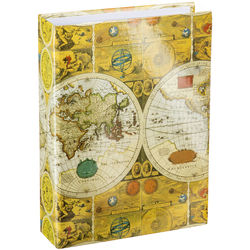 Pioneer Photo Albums ST-400 Memo Pocket 3-Ring Binder Album (Ancient World Map)