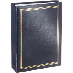 Pioneer Photo Albums ST-400 Memo Pocket 3-Ring Binder Album (Navy Blue)