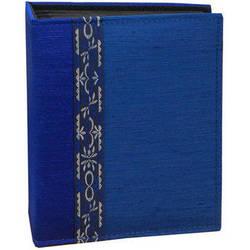 Pioneer Photo Albums TF4100-BL Tone-on Tone Fabric Photo Album (Blue)